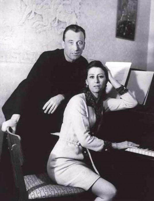 Майя Плисецкая и Родион Щедрин. / Фото: www.wedding-magazine.ru