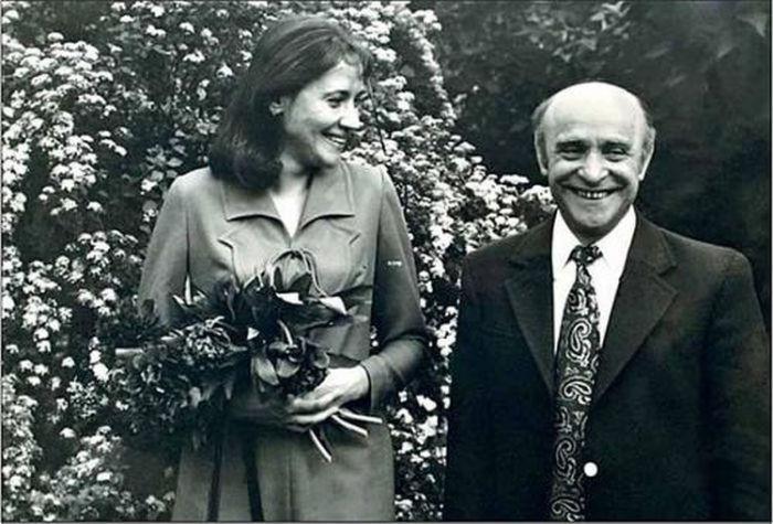 Ролан Быков и Елена Санаева. / Фото: www.blogspot.com