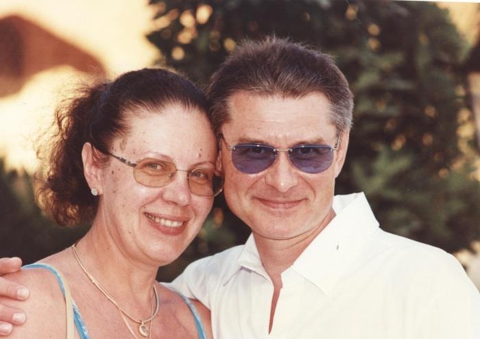 Александра Маринина и Сергей Заточный. / Фото: www.marinina.ru