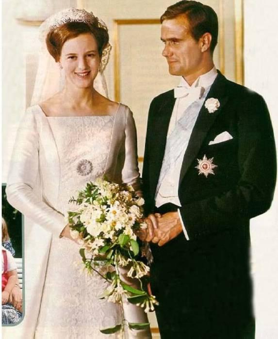 Свадьба принцессы Маргарете и графа де Лаборд де Монпеза. / Фото: www.troilaree.com