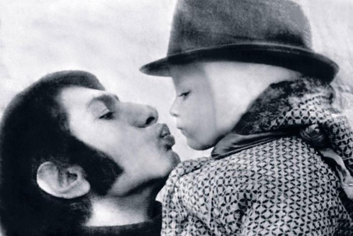 Василий Васильев с дочерью. / Фото: www.7days.ru