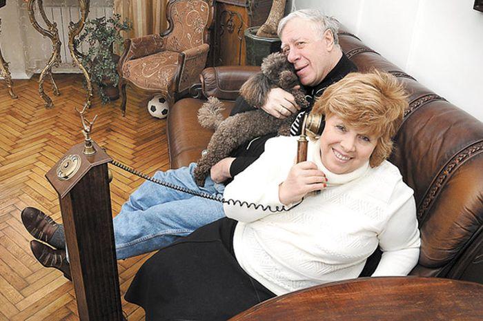 Лариса Рубальская с мужем. / Фото: www.aif.ru
