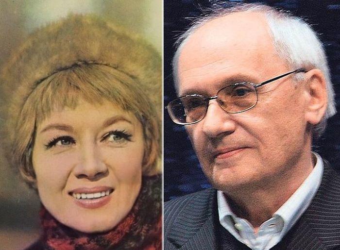 Алла Демидова и Владимир Валуцкий.
