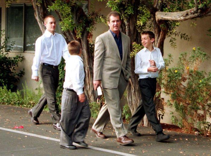 Всего у Мела Гибсона девять детей. / Фото: www.tsargrad.tv