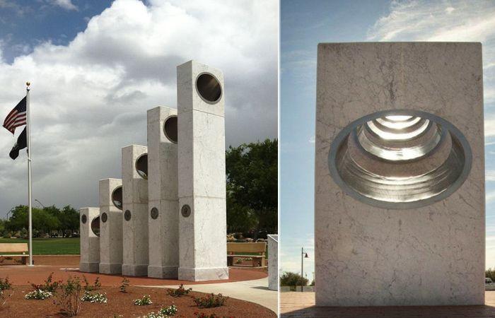Уникальный памятник в Аризоне.