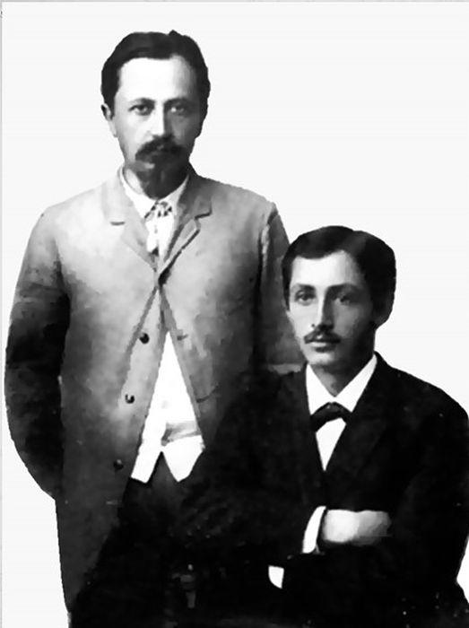 Иван и Юлий Бунины. / Фото: www.znakka4estva.ru