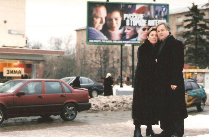 Родион Нахапетов и Наталья Шляпникофф. / Фото: www. rodionnahapetov.com