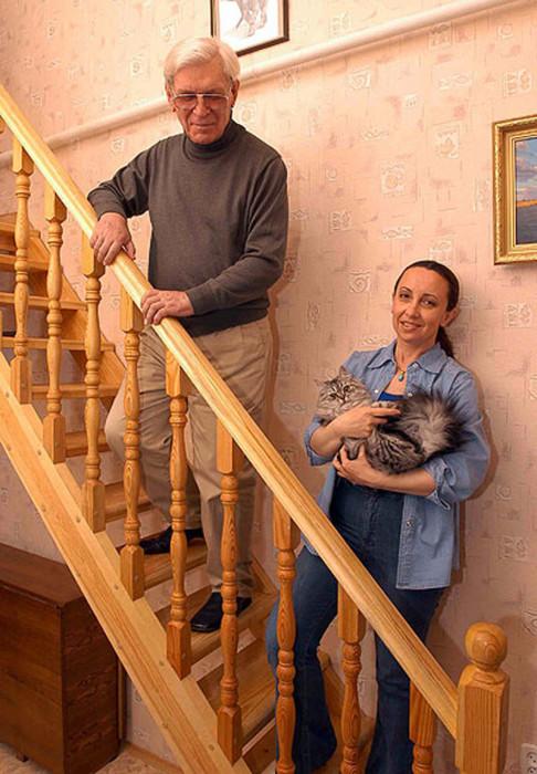 Пётр и Татьяна Вельяминовы. / Фото: www.fishki.net