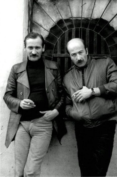 Александр Розенбаум и Леонид Филатов. / Фото: www.openg.ru