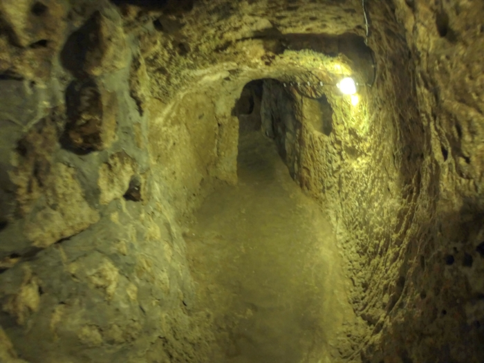 Стены подземного города не разрушились за тысячи лет. / Фото: www.wikimedia.org