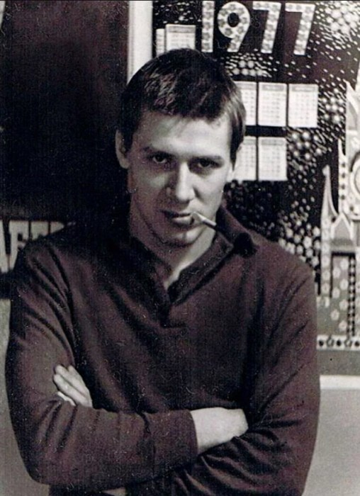 Андрей Краско в юности. / Фото: www.twimg.com