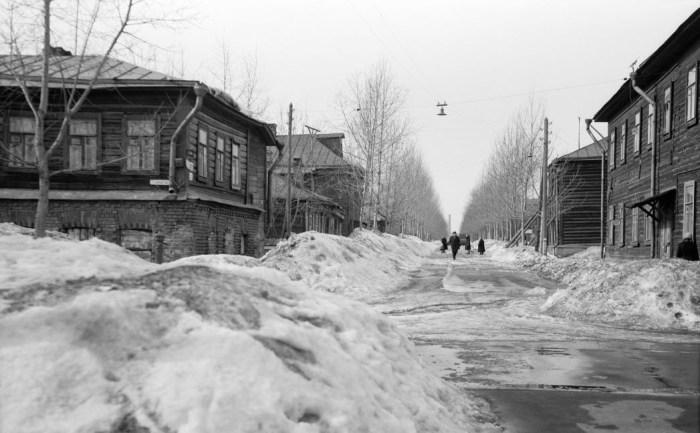 Марьина роща, 6-й проезд. / Фото: www.pastvu.com
