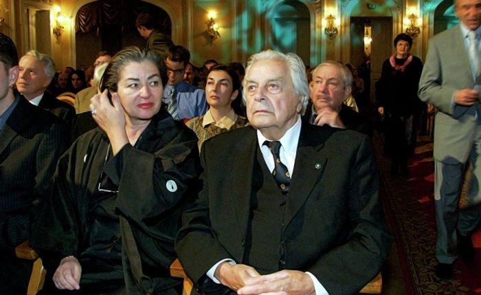 Юрий Любимов и Каталин Кунц. / Фото: www.ria.ru