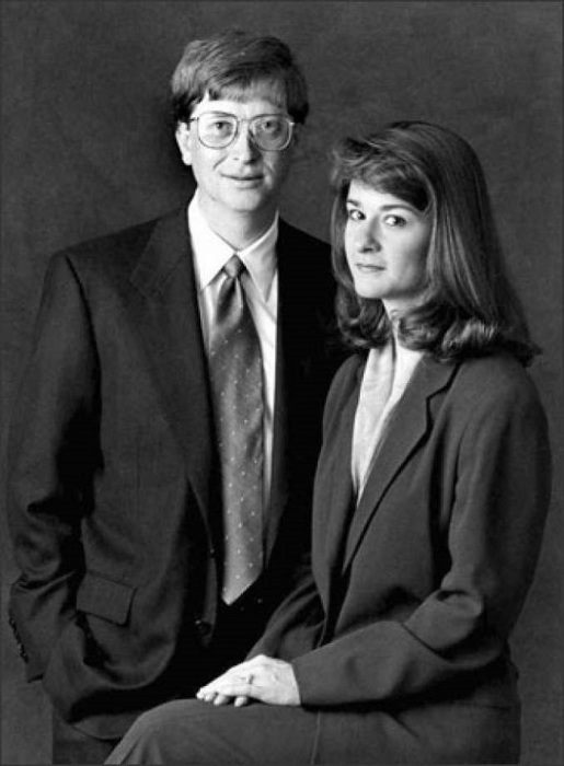 Билл и Мелинда Гейтс, 1997 год. / Фото: www.topkin.ru