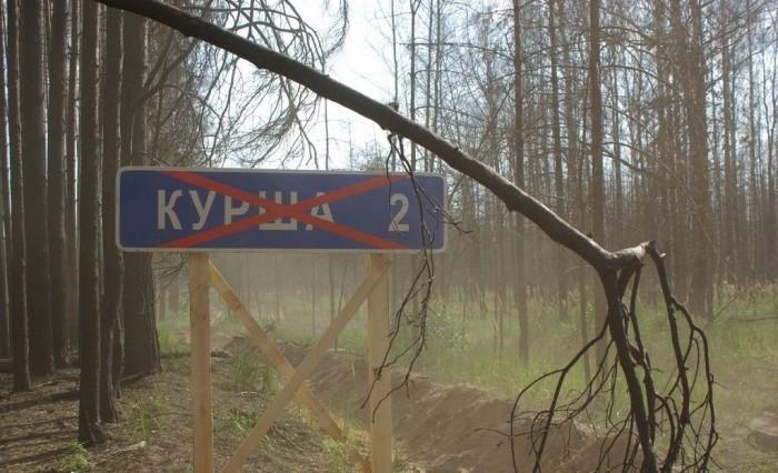 Дорожный знак Курша-2, Рязанская область. / Фото: www.proryazan.com