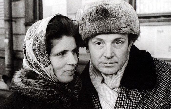 Иннокентий и Суламифь Смоктуновские. / Фото: www.kpcdn.net