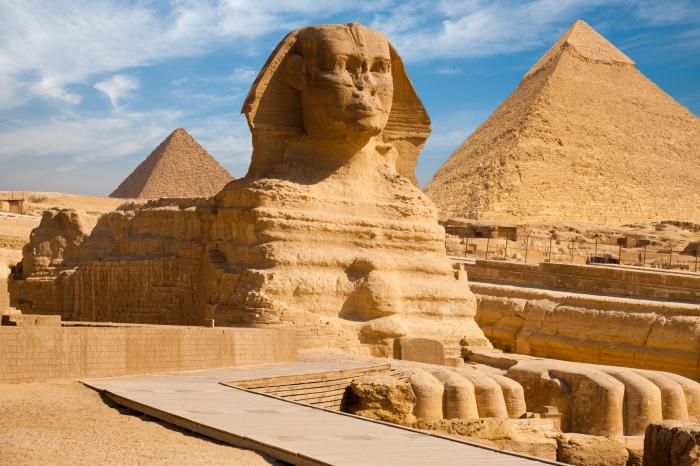 Египетские пирамиды. / Фото: www.wallpapersafari.com