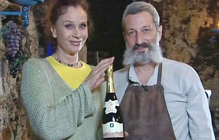 Любовь Полищук и Сергей Цигаль. / Фото: www.lyubovpolishuk.com