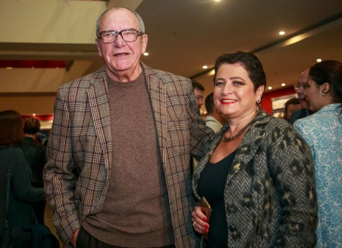 Эммануил Виторган с женой. / Фото: www.livejournal.net