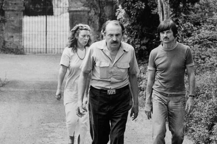 Лора, Тонино Гуэрра и Андрей Тарковский. / Фото: www.trip-point.ru