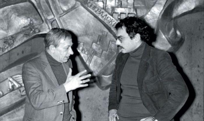 Карен Шахназаров и Евгений Евстигнеев. / Фото: www.tele.ru