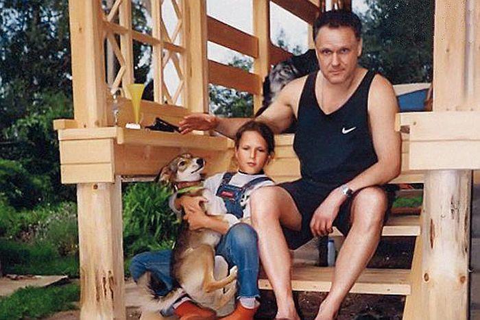 Николай Ерёменко с младшей дочерью. / Фото: www.sensum.club