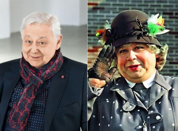 Олег Табаков и его мисс Юфимия Эндрю.