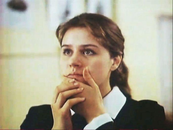 Янина Лисовская, кадр из фильма «Оглянись». / Фото: www.kino-teatr.ru