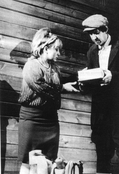 Георгий Бурков и Татьяна Ухарова. / Фото: www.kinodir.ru