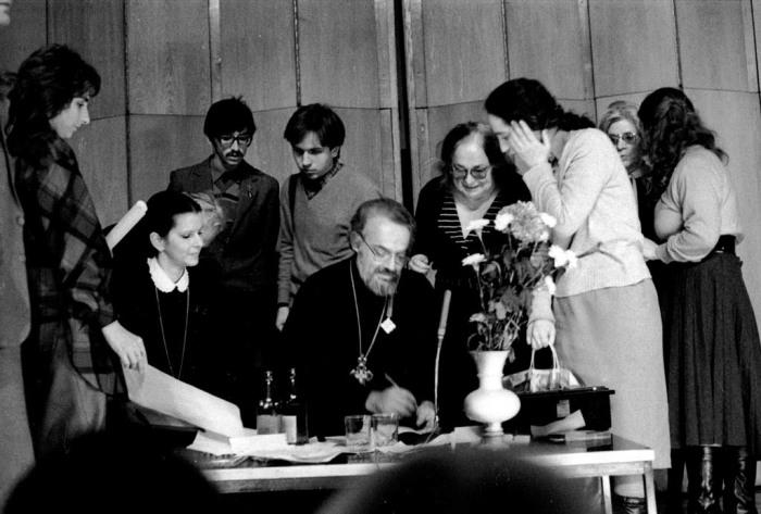 Протоиерей Александр Мень, 1988 год. / Фото: www.alexandrmen.ru