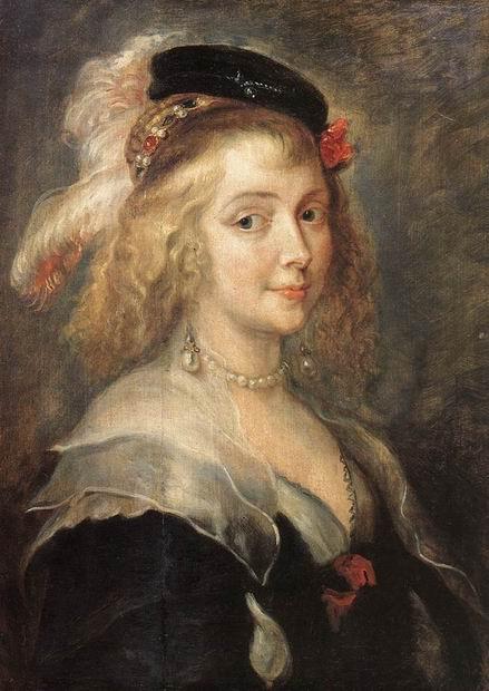 Портрет Елены Фоурмен, второй жены художника, 1630. / Фото: www.rybens.ru