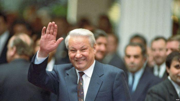 Борис Ельцин. / Фото: www.gdb.rferl.org