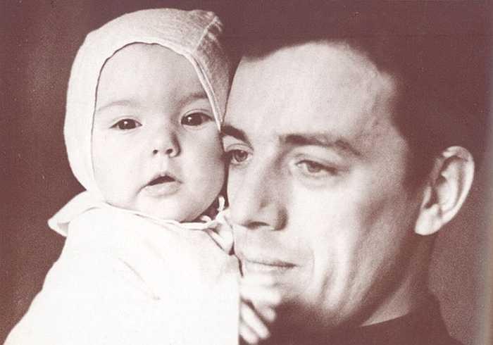С дочерью Анете, 60-е годы. / Фото: www.ekskluziv-smi.ru