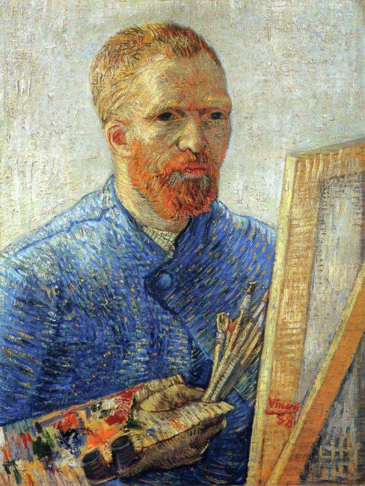Винсент Ван Гог. Автопортрет, 1888. / Фото: www.insparkl.com