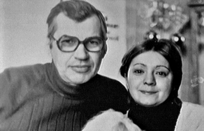 Георгий Бурков и Татьяна Ухарова. / Фото: www.picshq.ru