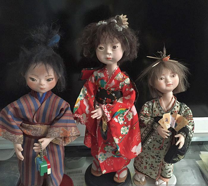Куклы, созданные Ольгой Антоновой. / Фото: www.babiki.ru