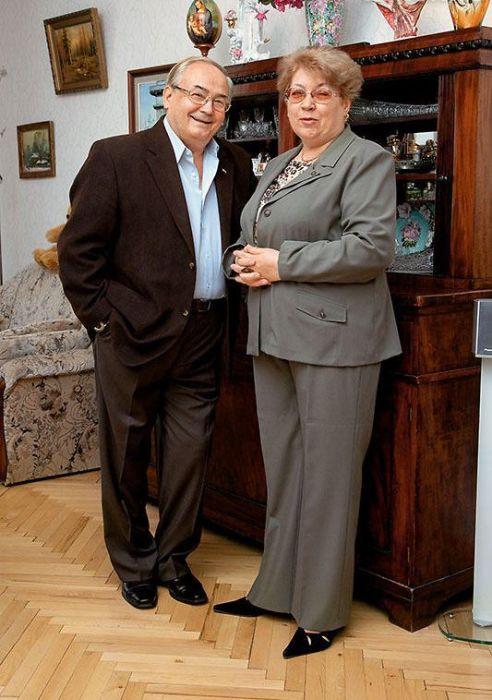 Всеволод Шиловский с женой Натальей. / Фото: www.7days.ru