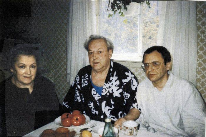 Владислав Стржельчик, Людмила Шувалова и Рудольф Фурманов. / Фото: www.fontanka.ru