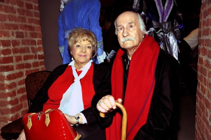 Владимир Зельдин и Иветта Капралова. / Фото: www.woman.ru