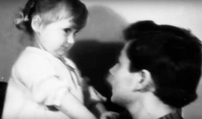 Всеволод Абдулов с дочерью. / Фото: www.1tv.ru