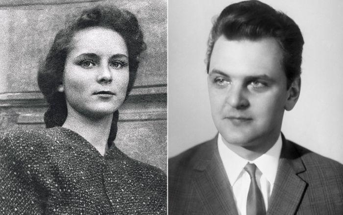 Юрий Яковлев и Кира Мачульская.