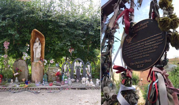Cross Bones Graveyard - кладбище «одиноких дам».