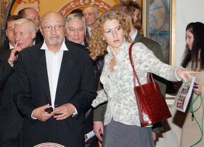Михаил Козаков и Надежда Седова. / Фото: www.dni.ru