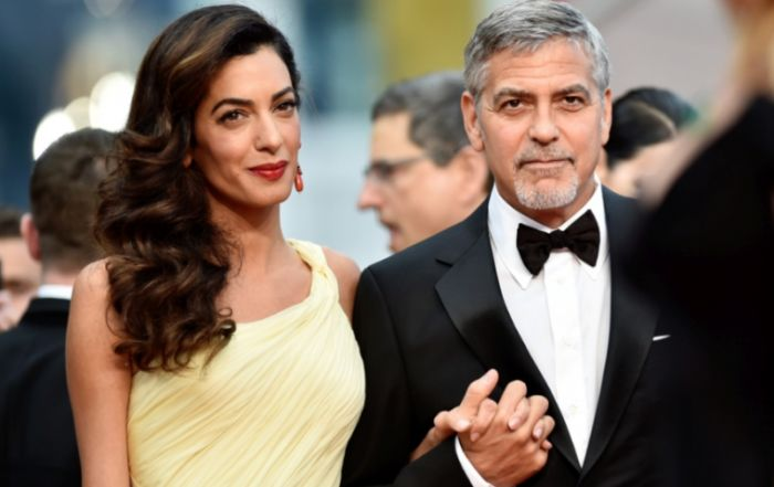 Джордж и Амаль Клуни. / Фото: www.showbiz-news.org