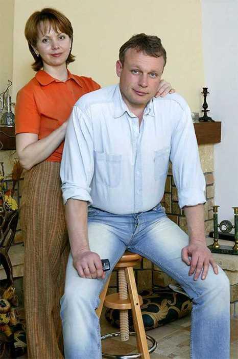 Сергей Жигунов с женой Верой. / Фото: Марк Штейнбок.
