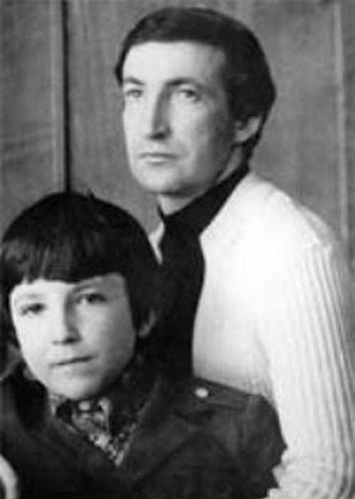 Семён Альтов с сыном. / Фото: www.liveinternet.ru