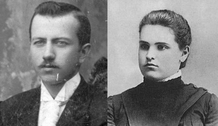 Вера Мухина и Алексей Замков.