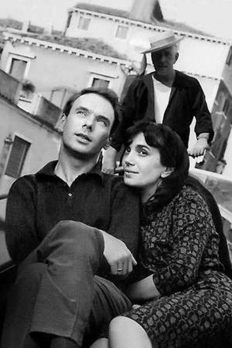 Алексей Баталов с женой Гитаной в Венеции. / Фото: www.7days.ru
