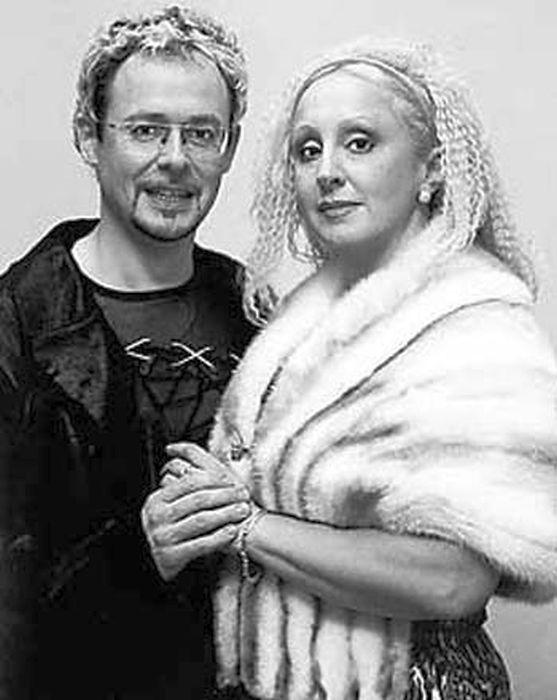 Лора Квинт и Андрей Билль. / Фото: www.peoples.ru