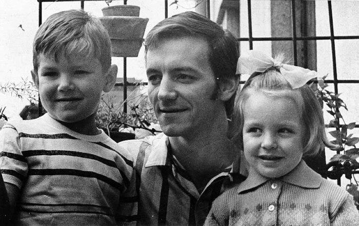 Марис Лиепа с детьми Андрисом и Илзе. / Фото: www.liepa.ru